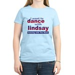 I Want to Dance with Lindsay Women's Light T-Shirt