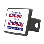 I Want to Dance with Lindsay Rectangular Hitch Cov