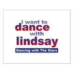 I Want to Dance with Lindsay Small Poster