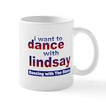I Want to Dance with Lindsay Mug