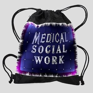 Medical Social Work Drawstring Bag