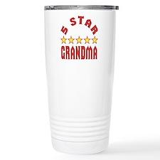 5 Star Grandma Stainless Steel Travel Mug