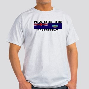 Montserrat Made In Light T-Shirt