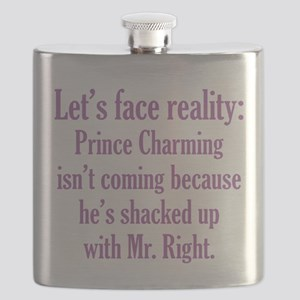 Prince Charming & Mr. Right Flask