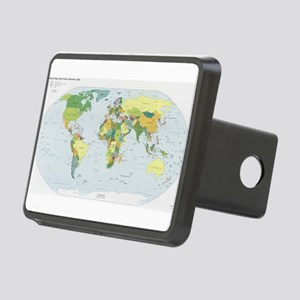 World Atlas Hitch Cover