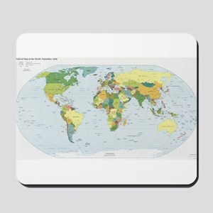 World Atlas Mousepad