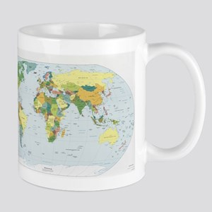 World Atlas Mug