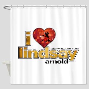 I Heart Lindsay Arnold Shower Curtain