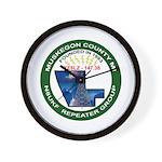 N8UKF Logo Wall Clock