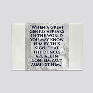 When A Great Genius Appears - J Swift Magnets