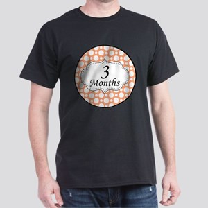 3 Months Polka Dot Milestone T-Shirt