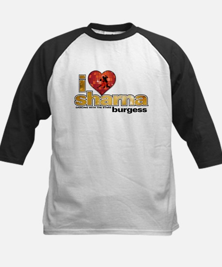 I Heart Sharna Burgess Kids Baseball Jersey