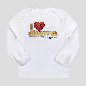 I Heart Sharna Burgess Long Sleeve Infant T-Shirt