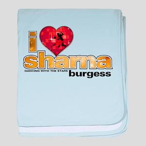 I Heart Sharna Burgess Infant Blanket