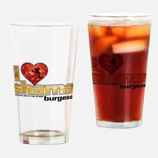 I Heart Sharna Burgess Drinking Glass