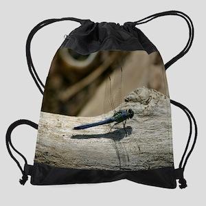 3-BluDragon11.5x9 copy Drawstring Bag