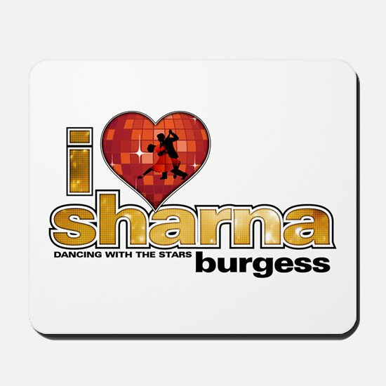 I Heart Sharna Burgess Mousepad