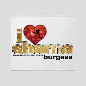 I Heart Sharna Burgess Stadium Blanket