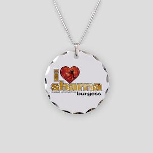 I Heart Sharna Burgess Necklace Circle Charm