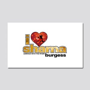 I Heart Sharna Burgess Car Magnet 20 x 12