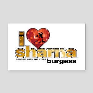 I Heart Sharna Burgess Rectangle Car Magnet