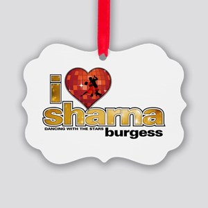 I Heart Sharna Burgess Picture Ornament