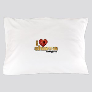 I Heart Sharna Burgess Pillow Case