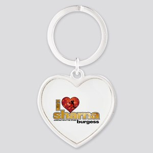 I Heart Sharna Burgess Heart Keychain