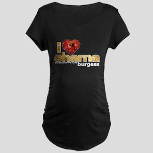 I Heart Sharna Burgess Dark Maternity T-Shirt