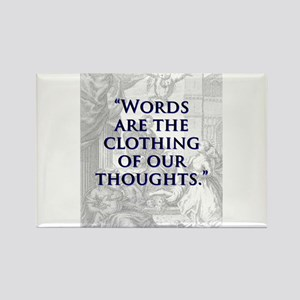 Words Are The Clothing - J Swift Magnets