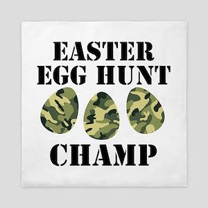 Easter Egg Hunt Champ Queen Duvet