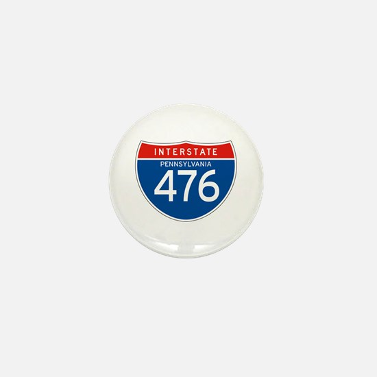 Interstate 476 - PA Mini Button