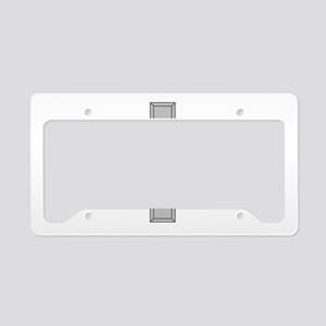 Silver Cross License Plate Holder