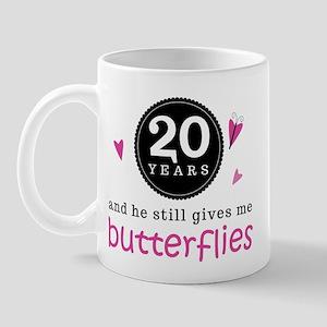 20 year work anniversary mugs cafepress
