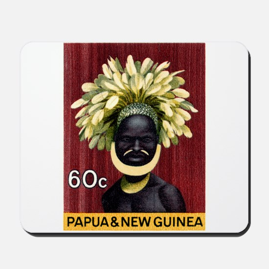 1968 Papua New Guinea Headress 60c Postage Stamp M