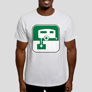 Dump Station Ash Grey T-Shirt