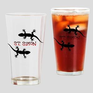 St. Simon Beach Drinking Glass