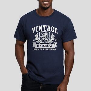 Vintage 1947 Men's Fitted T-Shirt (dark)