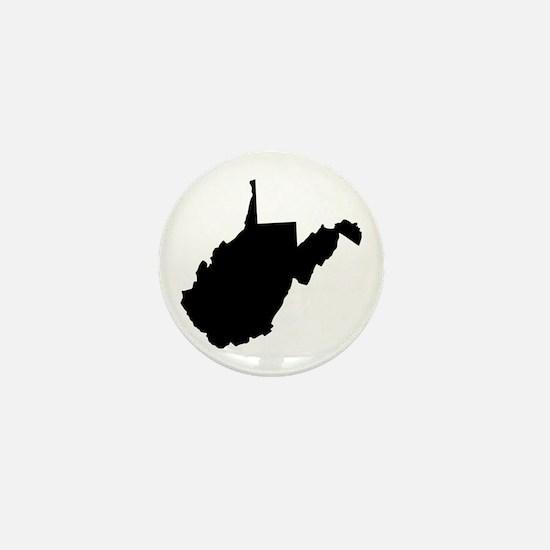 Black Mini Button