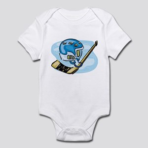 HELMET AND STICK Infant Bodysuit