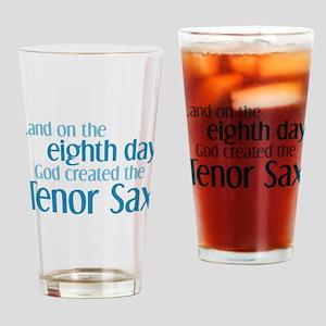 Tenor Sax Creation Drinking Glass