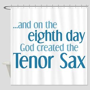 Tenor Sax Creation Shower Curtain
