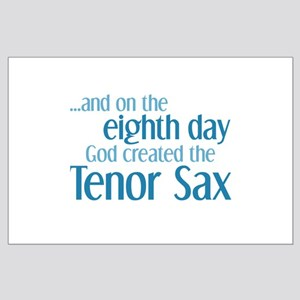 Tenor Sax Creation Large Poster