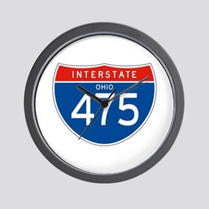 Interstate 475 - OH Wall Clock