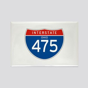 Interstate 475 - OH Rectangle Magnet