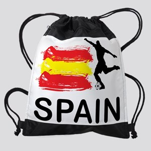 Spain Football6 Drawstring Bag