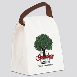 It's All About Family Canvas Lunch Bag