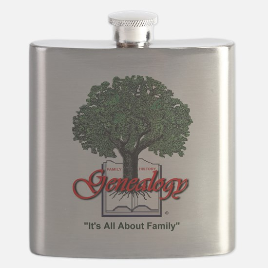 It's All About Family Flask