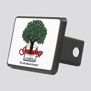 It's All About Family Rectangular Hitch Cover