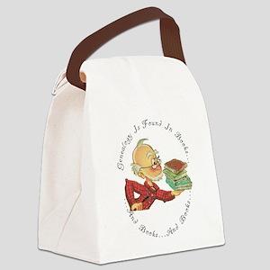 Ancestrial Detective Canvas Lunch Bag